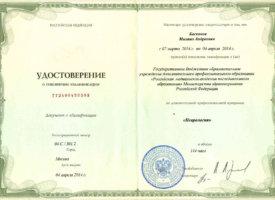 Диплом неврология Баскаков М.А.15